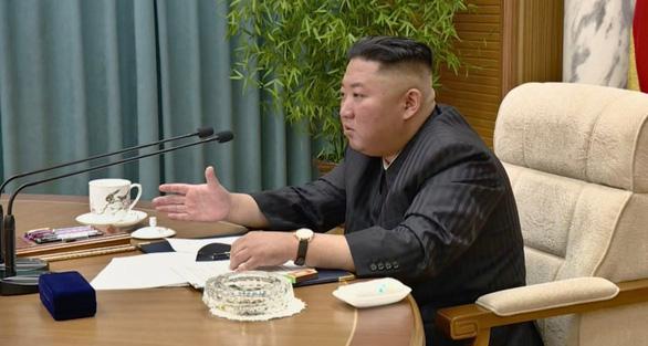 Ông Kim Jong Un giảm cân? - Ảnh 1.