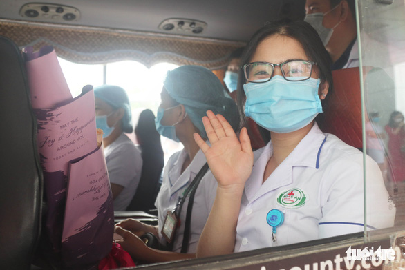 Nghệ An xuất quân chi viện Hà Tĩnh chống dịch COVID-19 - Ảnh 3.