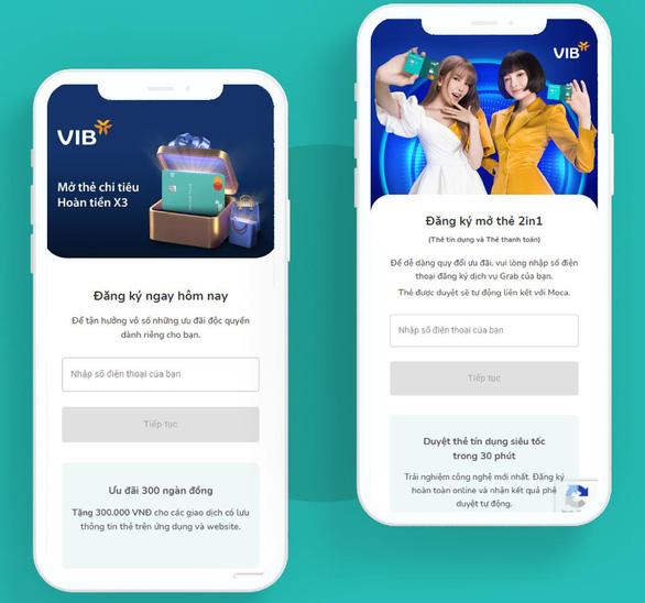 Cách mở thẻ tín dụng trực tuyến có ngay thẻ để mua sắm - Ảnh 2.