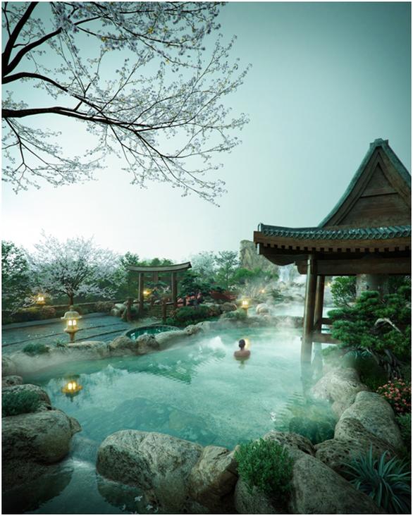Ecopark và Nomura xây dựng tổ hợp khoáng nóng trong lòng đô thị - Ảnh 2.