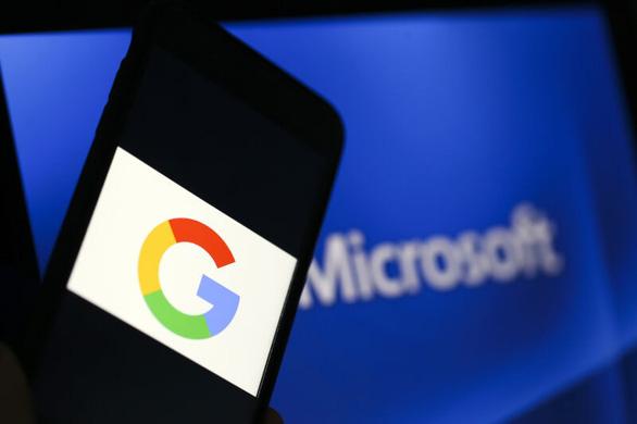 Google và Microsoft chấm dứt thỏa thuận 'đình chiến' - Ảnh 1.