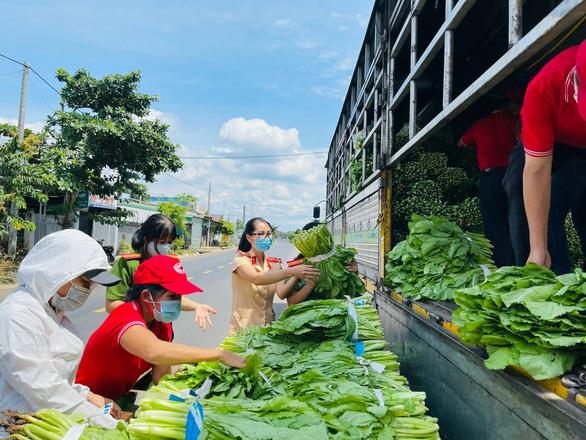 Những chuyến xe từ Tây Nguyên chở rau củ, gửi yêu thương về Sài Gòn - Ảnh 4.