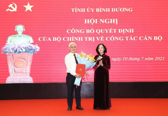 Ông Nguyễn Văn Lợi làm bí thư Tỉnh ủy Bình Dương - Ảnh 1.