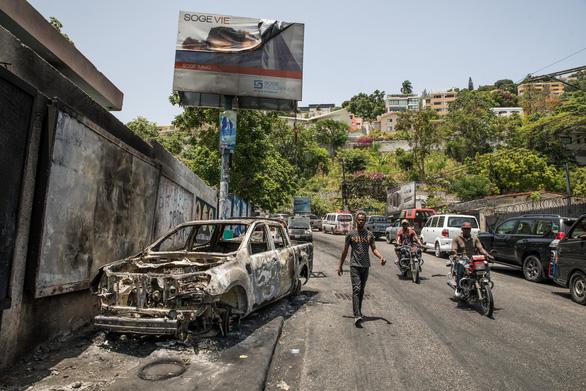Tương lai mờ mịt của Haiti - Ảnh 1.
