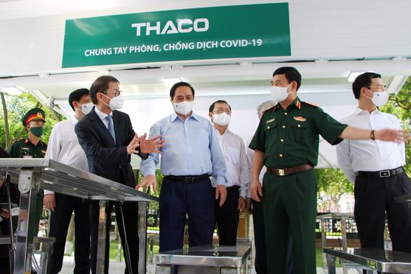 Thaco trao tặng 126 xe chuyên dụng vận chuyển vắc xin và phục vụ tiêm chủng lưu động - Ảnh 2.