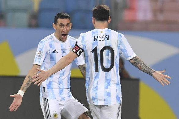 Di Maria - từ cận vệ đến thiên thần hộ mệnh của Messi - Ảnh 1.