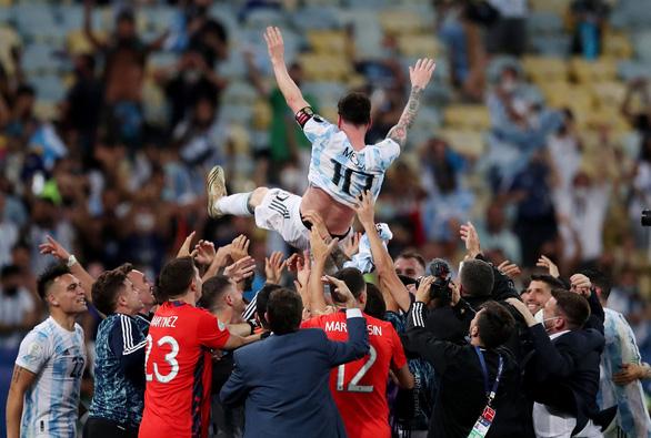 Messi và Argentina vô địch Copa America - Ảnh 1.