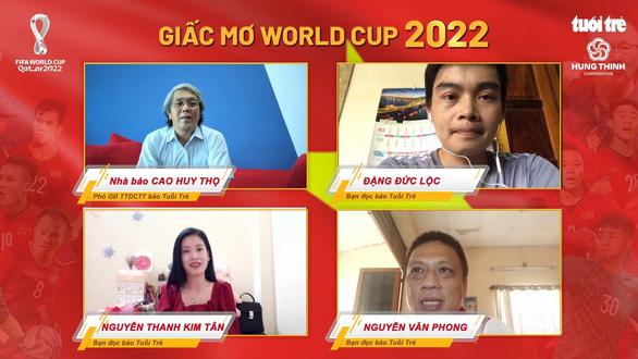 Bạn đọc Tuổi Trẻ chúc tuyển Việt Nam đoạt vé dự World Cup 2022 - Ảnh 1.