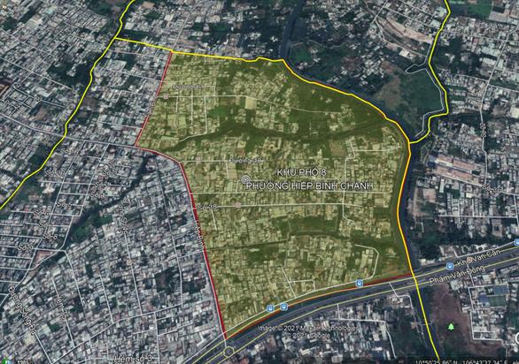 Phường Hiệp Bình Chánh tạm phong tỏa toàn khu phố 8 trong 3 ngày để phòng dịch - Ảnh 1.
