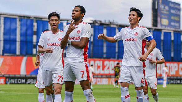 Viettel chia tay AFC Champions League bằng chiến thắng sát nút trước Kaya FC - Ảnh 1.