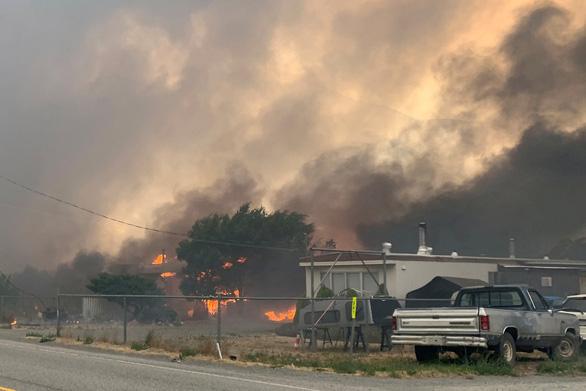 Nắng cháy ở Tây Mỹ, Canada kéo dài đến hết 12-7 mới giảm - Ảnh 3.