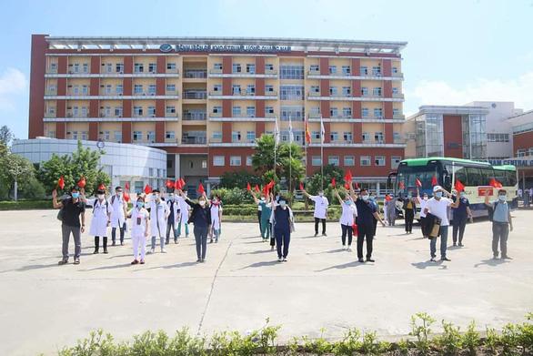 39 y bác sĩ ở Quảng Nam tăng cường hỗ trợ TP.HCM chống dịch - Ảnh 3.