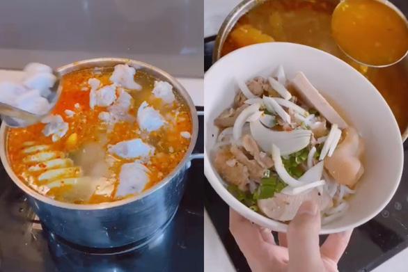 Hứa Vĩ Văn nấu bún bò Huế theo linh cảm ẩm thực trời phú - Ảnh 3.