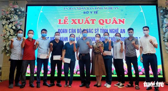 60 y, bác sĩ Nghệ An xuất quân vào TP.HCM chống dịch, mong Sài Gòn nhanh khỏe - Ảnh 4.
