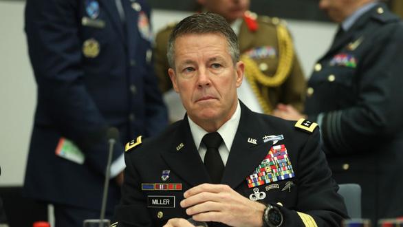 Chỉ huy lực lượng Mỹ tại Afghanistan Scott Miller - Ảnh: AFP