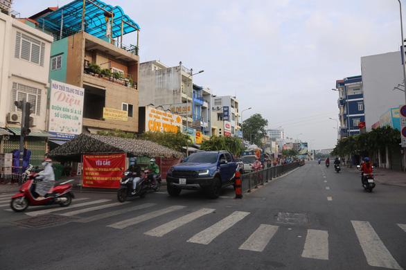 Dời chốt ở đường Nguyễn Kiệm, nới lỏng kiểm tra qua các chốt ở Gò Vấp - Ảnh 3.