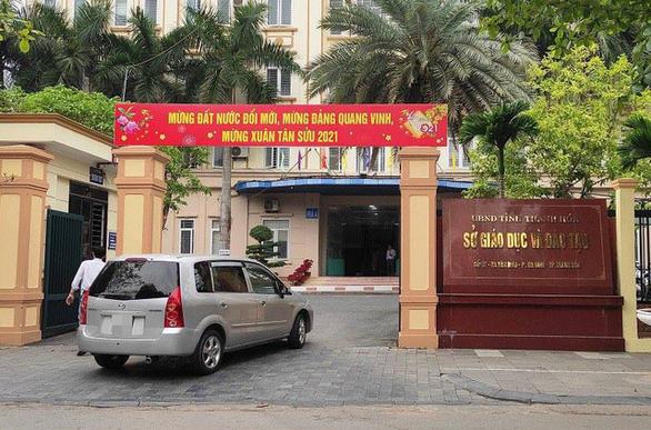 Nguyên giám đốc Sở GD-ĐT Thanh Hóa bị tra soát tài sản nhà, đất - Ảnh 1.