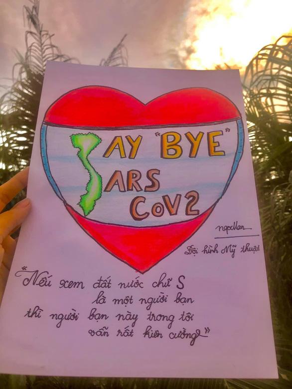 Việt Nam cố lên qua những thông điệp từ người trẻ - Ảnh 3.