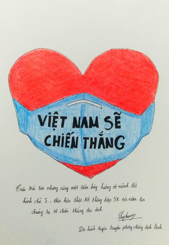 Việt Nam cố lên qua những thông điệp từ người trẻ - Ảnh 4.