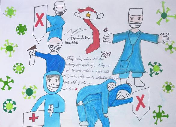 Việt Nam cố lên qua những thông điệp từ người trẻ - Ảnh 5.