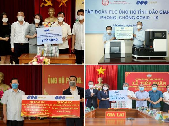 Tặng Phú Thọ 3 tỉ đồng, FLC mở rộng bản đồ hỗ trợ chống COVID-19 hơn 10 tỉnh, thành phố - Ảnh 3.