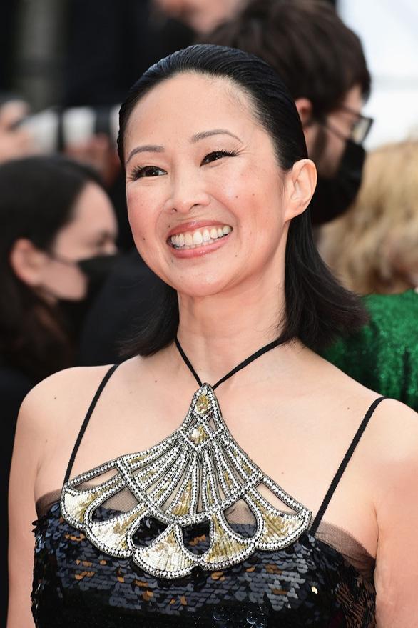 Phạm Linh Đan - ngôi sao gốc Việt của phim Đông Dương - rạng rỡ trên thảm đỏ Cannes - Ảnh 1.