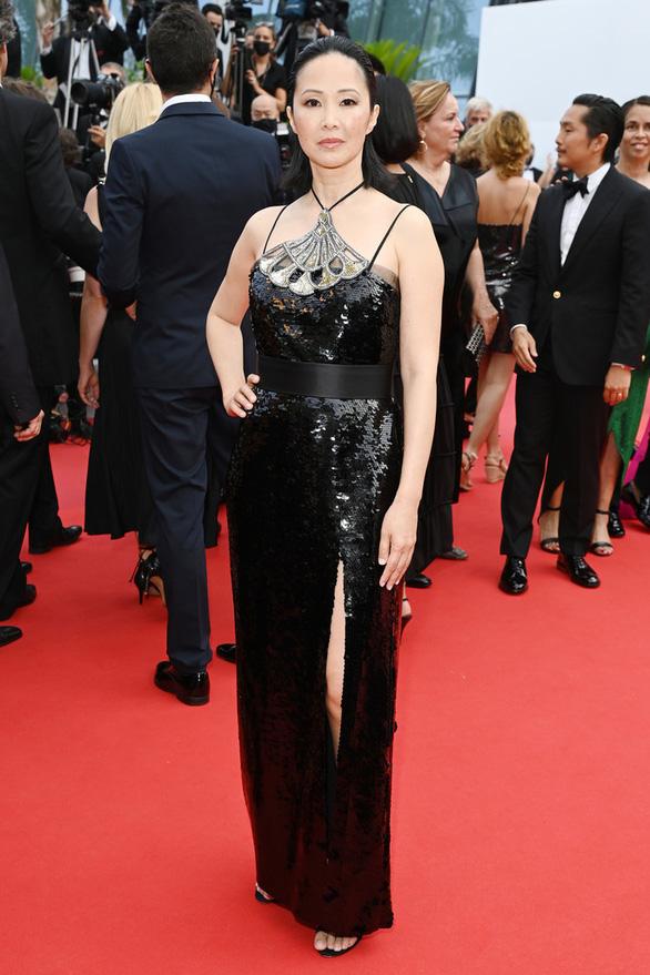 Phạm Linh Đan - ngôi sao gốc Việt của phim Đông Dương - rạng rỡ trên thảm đỏ Cannes - Ảnh 2.
