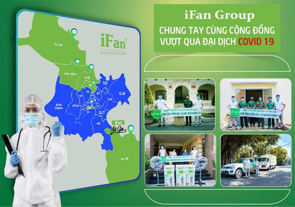 Tập đoàn IFAN chung tay cùng cộng đồng vượt qua đại dịch COVID-19 - Ảnh 1.