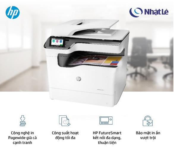 HP Pagewide MFP P77440dn - Máy in đa chức năng lý tưởng cho doanh nghiệp - Ảnh 1.