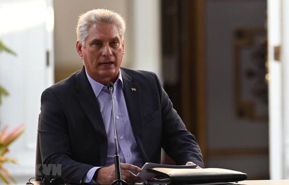 Chủ tịch Diaz-Canel lên tiếng về biểu tình ở Cuba - Ảnh 1.
