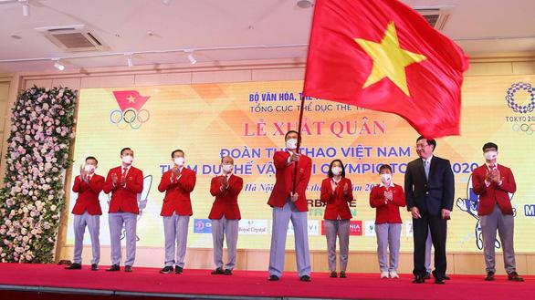 Đoàn thể thao Việt Nam xuất quân tham dự Olympic Tokyo 2020 - Ảnh 1.