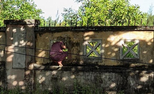 Nữ bệnh nhân COVID-19 leo tường rào ra ngoài bệnh viện… hái lá nấu nước xông - Ảnh 1.