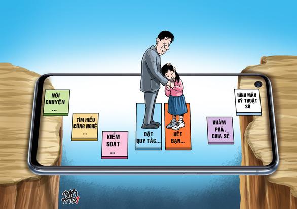 Cùng con vào thời đại số: Kế hoạch số cho gia đình - Ảnh 1.