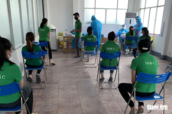 Gần 42.000 công nhân Công ty Changshin tạm nghỉ, test nhanh toàn bộ người lao động - Ảnh 1.
