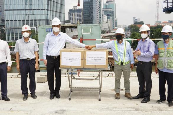 Cầu Thủ Thiêm 2 sẽ thông xe kỹ thuật vào ngày 2-9 - Ảnh 2.