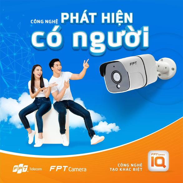 FPT Camera IQ - Camera an ninh tích hợp cùng lúc công nghệ Cloud và AI - Ảnh 2.