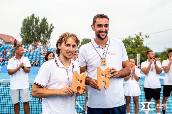 Luka Modric vô địch... quần vợt ở quê nhà - Ảnh 1.