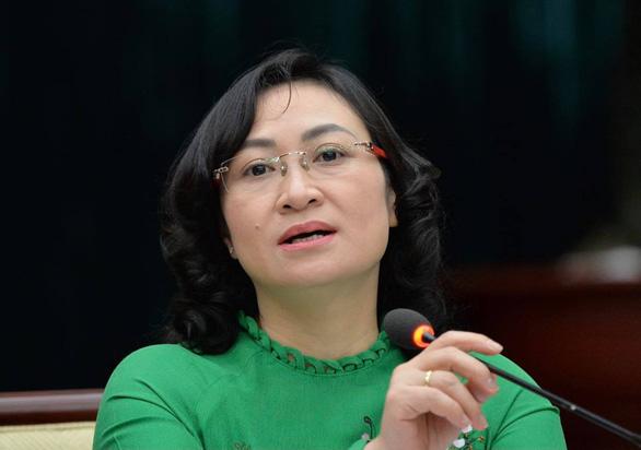Phó chủ tịch Phan Thị Thắng phụ trách công việc phòng, chống dịch thay ông Võ Văn Hoan - Ảnh 1.