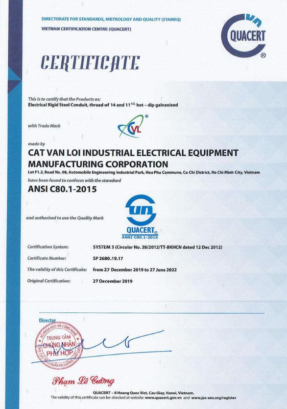 Ống luồn dây điện CVL tham gia vào chuỗi cung ứng của Tập đoàn Toshiba - Ảnh 2.