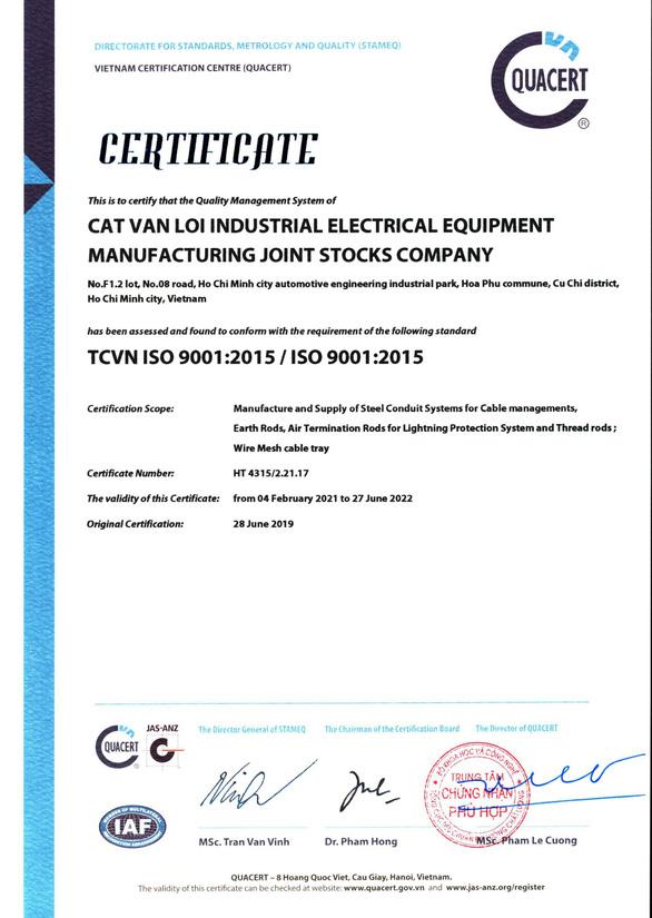 Ống luồn dây điện CVL tham gia vào chuỗi cung ứng của Tập đoàn Toshiba - Ảnh 3.
