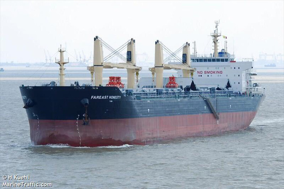 Yêu cầu tàu chở than cho Vĩnh Tân 4 quay về do có thuyền viên mắc COVID-19 - Ảnh 1.
