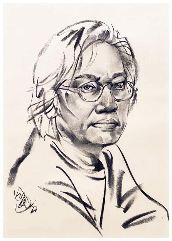 Nhà thơ, họa sĩ Lê Thánh Thư đã thôi đợi chờ - Ảnh 2.