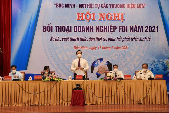 Bắc Ninh ra mắt Tổ phản ứng nhanh 3 nhất hỗ trợ doanh nghiệp - Ảnh 1.