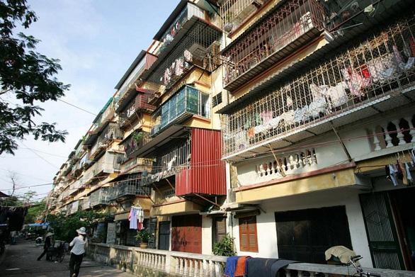 Chính phủ quy định ba trường hợp chung cư cũ buộc phải phá dỡ - Ảnh 1.