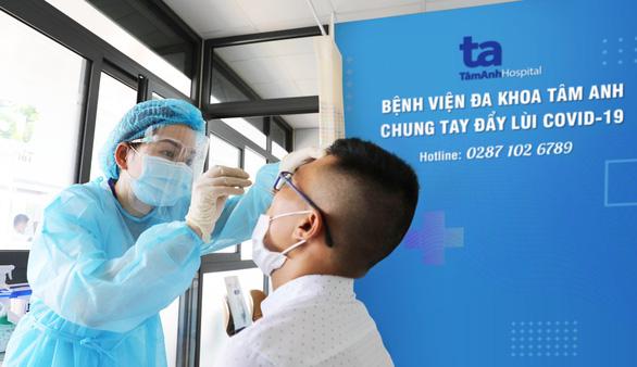 Bệnh viện đa khoa Tâm Anh TP.HCM đầu tư lớn cho dịch vụ xét nghiệm COVID-19 - Ảnh 1.