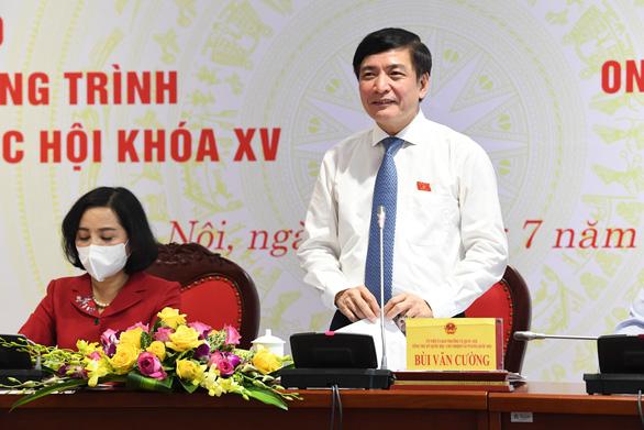 Quốc hội rút ngắn thời gian họp, Chính phủ giảm một phó thủ tướng - Ảnh 1.