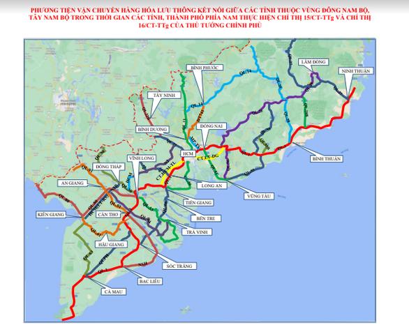 Công bố luồng xanh quốc gia cho xe đi qua vùng dịch - Ảnh 1.