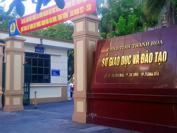 Nguyên giám đốc Sở Giáo dục - đào tạo Thanh Hóa bị đình chỉ sinh hoạt Đảng - Ảnh 1.