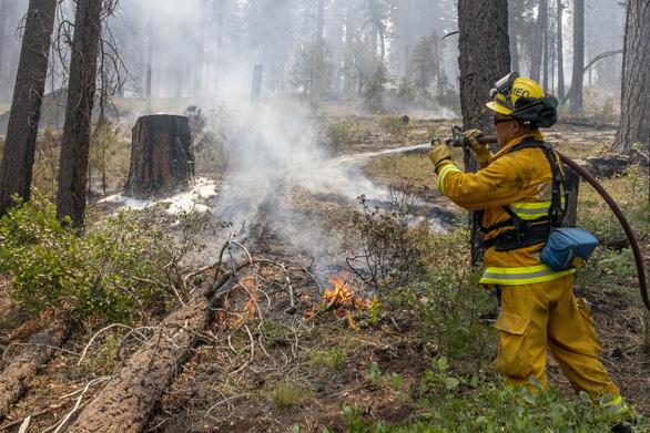 Cháy rừng lan rộng tại Mỹ và Canada - Ảnh 2.