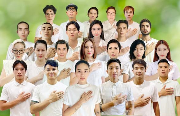 Ngô Thanh Vân cùng các nghệ sĩ, cầu thủ kêu gọi ủng hộ mua máy thở - Ảnh 1.